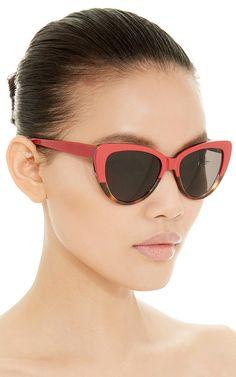 9c8934034f Capri Rose and Tortoiseshell Sunglasses by Prism Now Available on Moda  Operandi Elite Fashion