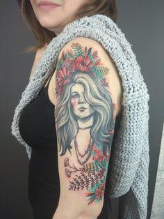 My own, my little...  Janis Joplin tattoo 😍