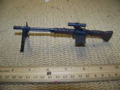 1/6 Scale TUS WWII German G43 Paratrooper Rifle w/scope