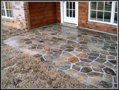 Painted concrete patio http://www.gharexpert.com/mid/911200840543.jpg