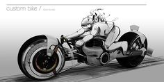Gillet Herstal Custom Bike on Behance