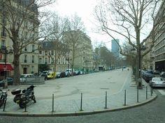 Av. Ségur com vista da Torrre Montparnasse ao fundo.