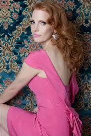 new hair/fashion muse, preternaturally lovely jessica chastain