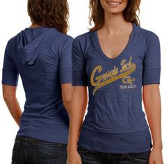 Ladies, proudly take your place as the leader of the Yellow Jackets fanatics in the Captain hoodie tee.