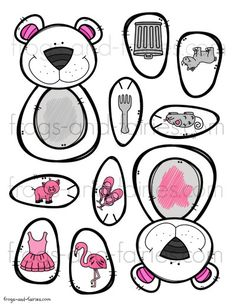 Color matching will be fun with this Build a Bear Color Match printable activity for preschoolers! This printable PDF includes 6 pages of 11 x 5 color bear pieces. Preschool Projects, Preschool Themes, Color Activities, Activities For Kids, Busy Boxes, Teaching Math, Maths, Build A Bear, Kindergarten Worksheets