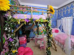[ Fairytale Bedrooms Tinkerbell Fairy Theme Forest Woodland Bedroom Ideas ] - Best Free Home Design Idea & Inspiration Enchanted Forest Bedroom, Fairytale Bedroom, Woodland Bedroom, Fantasy Bedroom, Dream Bedroom, Girls Fairy Bedroom, Fairy Room, Garden Bedroom, Childrens Bedroom