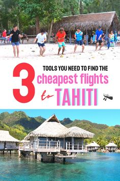 The 3 tools you need to find the cheapest airline tickets from Los Angeles California to Tahiti French Polynesia - cheap flight tips for your Tahiti vacation, how to get cheap flights to Tahiti Moorea #tahititravel #tahitihoneymoon Beautiful Vacation Spots, Dream Vacation Spots, Couples Vacation, Beautiful Places To Travel, Top Places To Travel, Top Travel Destinations, Travel Tips, Cheap Tropical Vacations, Tahiti Vacations