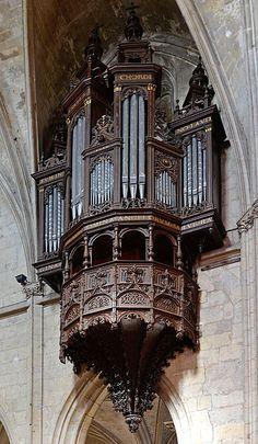Church of Notre Dame, La Ferte Bernard, France.
