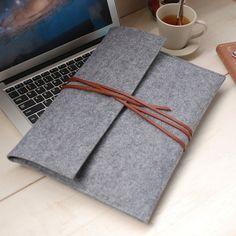 """Felt 13"""" MacBook Air Case Felt macbook case MacBook pro sleeve -macbook case macbook sleeve, Laptop bag for 13in macbook--608"""