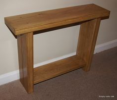 All of our bespoke rustic oak console tables are handmade to order from solid oak wood and finished in a choice of 4 colours. Oak Furniture Living Room, Decor, Oak, Table, Oak Planks, Furniture, Oak Consoles, Oak Console Table, Living Room Furniture