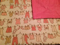 Large Baby Receiving Blanket, Baby Swaddle Blanket, Baby Girl Clothes, Bunny Rabbits, Pink and Cream, Baby Shower Gift on Etsy, $16.50