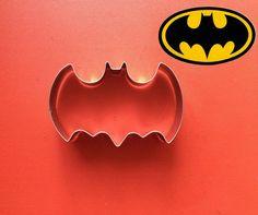 Batman Cookie cutter superhero party superman by ArtSeaFartsy