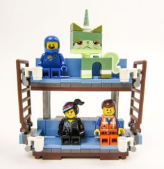 The LEGO Movie - Emmet's Double Decker Couch (from the Sea Cow set #70810) #LEGO