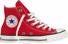 Converse Chuck Taylor Adult All Star Canvas Hi Top Still...after all these years! My style; my Converse.
