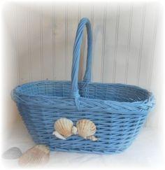 Upcycled Shell Basket $24.00