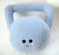 Buffy the Kettlebell Plushie. $28.00, via Etsy.