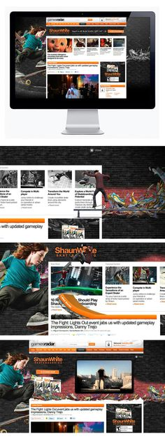 Shaun White Skateboarding by Moosesyrup , via Behance