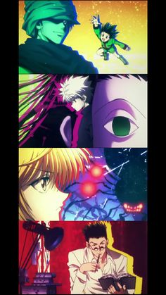Hunter X Hunter Ending 2 - Gon, Ging Freecss, Killua Zoldyck, Illumi, Kurapika, Spider and Leorio.