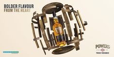 Powers Whiskey Advertising Campaign by Jonathan Knowles #whiskey #liquidphotography #jonathanknowles
