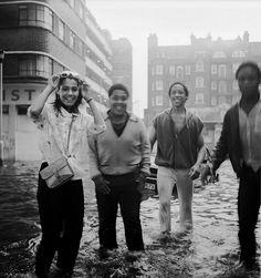 flood downs court hackney 1985 by chrisdb1, via Flickr