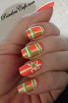 tropical vacation nail designs - Google Search
