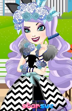 Ever After High Spring Unsprung Kitty Cheshire Dress Up Game : http://www.starsue.net/game/Spring-Unsprung-Kitty-Cheshire.html  Our Ever After High Games Category : http://www.starsue.net/online-games/Ever_After_High_Games.html  Have Fun ♥_♥