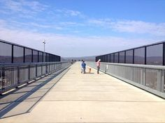 Poughkeepsie NY Walkway over the Hudson via Hudson Valley.  Beautiful to walk.  Great addition to Poughkeepsie.  Love it.