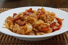 Celebrate St. Patrick's day with this delicious Sautéed Cabbage with bacon!