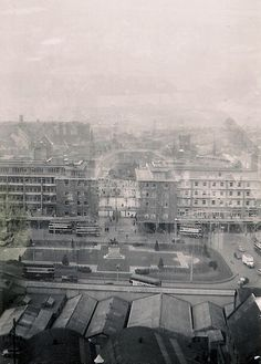 Coventry - Cathedral View Looking West Old Photo #Coventry #History #Photograph