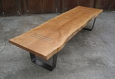 Image result for massive wood  exterior bench