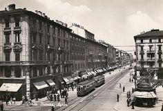 Corso Buenos Aires e Piazza Lima 1945-50   da Milan l'era inscì