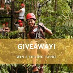 "GIVEAWAY  Want to soar above the #rainforest canopy on a #free #zipline #adventure? Win 2 zipline #tours from Arenal or Manuel Antonio for you  a friend! #GIVEAWAY OPEN THROUGH THURSDAY JAN 19 at midnight CST! 1 winner will be chosen.  To enter for a chance to win:  follow @costaricaexperts  give this photo a ""  mention a friend in the comments below!  ONE pal per comment please. You can enter as many times as you like! More mentions = more chances to win!  Instagram is in no way affiliated…"
