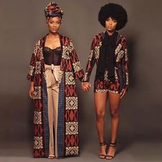 Look at these women african fashion 0524 African Fashion Designers, African Inspired Fashion, African Print Fashion, Africa Fashion, Fashion Prints, African Attire, African Wear, African Women, African Style