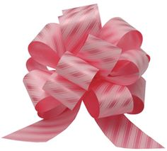 This pin has a great video on it... It was done with a cheap ribbon... I did mine with wired edged ribbon and it was the prettiest bow I have ever seen! Love Love love!!! HOW TO MAKE A BOW!!
