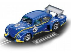 "The Carrera VW Käfer ""Group 5"" Race 1, is a superbly detailed Carrera Evolution slot car for use on any 1/32 analogue slot car layout."