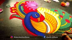 Rangoli Designs Peacock, Rangoli Designs With Dots, Rangoli Designs Diwali, Diwali Rangoli, Beautiful Rangoli Designs, Mehndi Designs, Rangoli Borders, Rangoli Border Designs, Arabian Mehndi Design