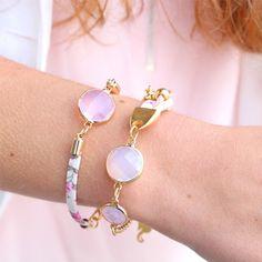 Schitterende sieraden met Crystal glas tussenstukken en hangers in prachtige tinten!