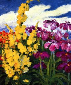 Verbascum and Lilies Emil Nolde - 1939