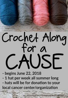 Crochet Along for a Cause | Hooked on Homemade Happiness