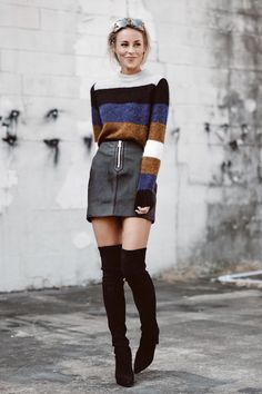 Stripes and sweaters make a killer combination. The best part is that you can never have enough of them. They come in a variety of textures, weights, fabrics and colors. That's what I'm here for; to guide you to the best ones listed online right now. Check out these 13 perfect striped sweaters.