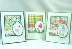 QFTD156, Easter Like the layout/colors/oval