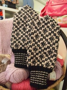 These mittens are knit with the finest quality wool in the Estonian tradition. The patterns are authentically Estonian.