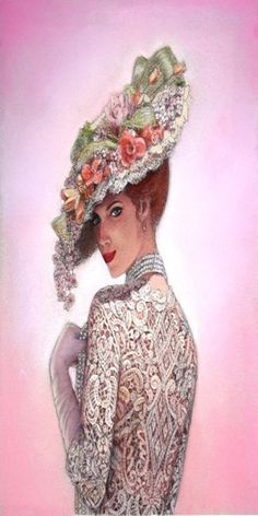 Shop Vintage Victorian Lady floral hat Fine Art iPhone Case created by mysticalart. Personalize it with photos & text or purchase as is!