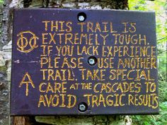 Advice for Appalachian Trail Thru Hikers... | El Camino Blues...