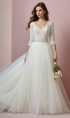 53c557b4b177 292 Best Sleeved Wedding Dresses images in 2019 | Sleeved wedding ...