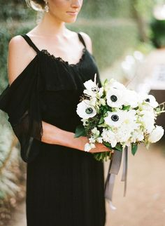 Chic Little Black Dresses for Bridesmaids | Bridal Musings Wedding Blog
