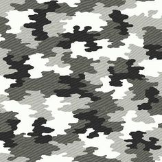 Black and White Camoflauge Wallpaper