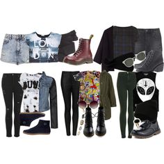 outfit ideas grunge - Google Search