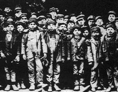 Child miners in the 19th Century