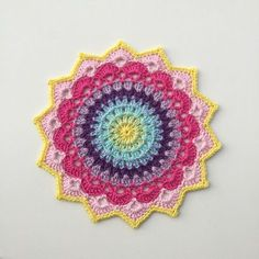 Pattern in English and Swedish.Magnolia mandala is the first flower in my mandala garden. I hope you will enjoy this mandala flower. Inspiration for color combinations can you find here: It's…
